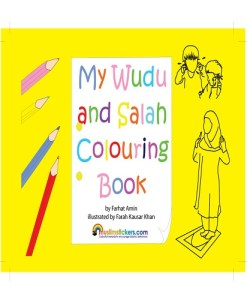My wudu and Salah Colouring Book by Farhat Amin