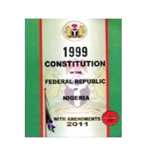 1999 CONSTITUTION OF THE FEDERAL REPUBLIC OF NIGERIA