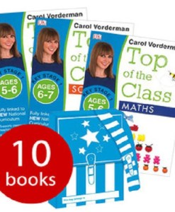 Carol Vorderman: Top of the Class KS1 Collection - 10 Books in a Satchel (Collection)