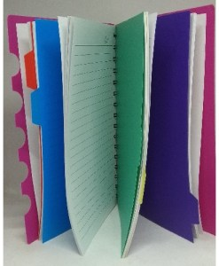 5 Tabs Notebook Jotter