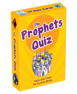 The Prophets Quiz Cards