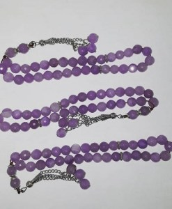 Authentic Amethyst prayer beads/tasbih