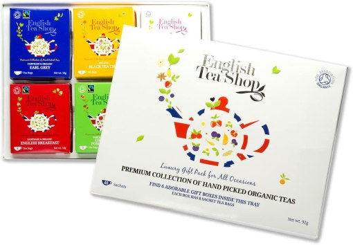 English Tea Shop Organic Luxury Gift Tray Bags