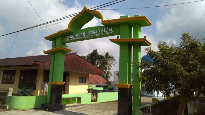 Masjid Jami' Bonjo Alam dan Dialektika Ulama Minangkabau