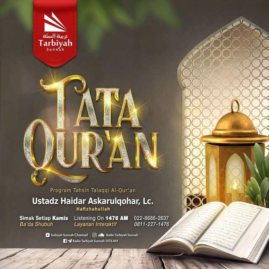 TATA QU'RAN – TAHSIN TALAQQI AL-QUR'AN