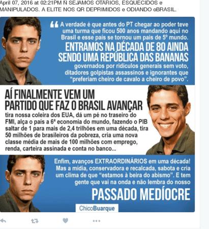 Parabens Chico, que prazer tê-lo poor companheiro na luta por uma sociedade decente.