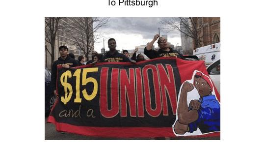 trabalhadoras em greve