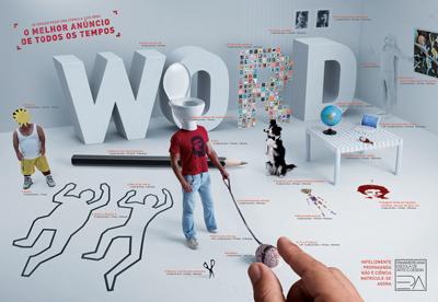 escola panamericana de arte - anuncio cannes propaganda nao e ciencia
