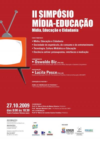 II simpósio mídia-educação