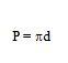 circulo formula perimetro