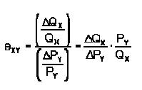 Coeficiente de elasticidad cruzada