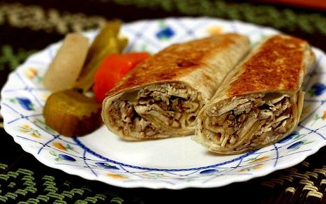 طريقة عمل الشاورما أو الدونر التركي