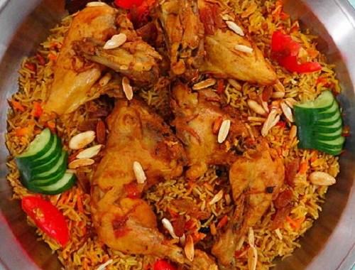 طريقة عمل الأرز البخاري بالدجاج