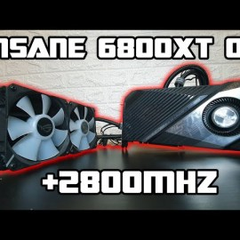 ASUS ROG STRIX LC RX 6800XT Review & Overlocking