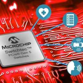 Microchip Announces World's First PCI Express 5.0 Switches