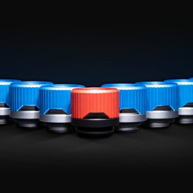 EK Adds Quantum Torque Fitting Lineup with Special Edition Red/Blue HDC Fittings