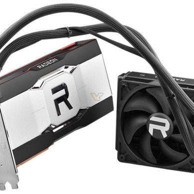 Reference Liquid-Cooled Radeon RX 6900 XTX Listed, and with Faster Memory?