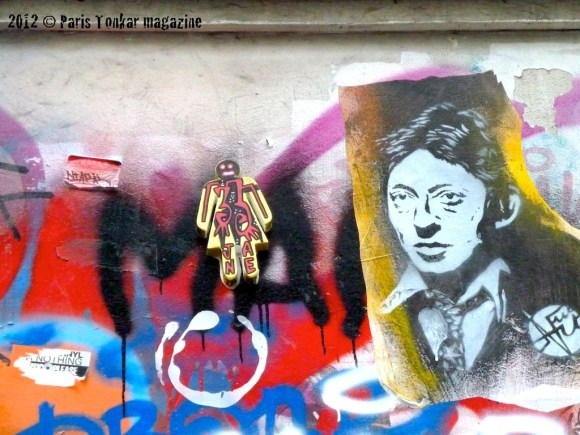 Collage Gainsbourg