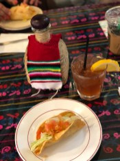 Potato Taco and John Daly (similar to an Arnold Palmer)