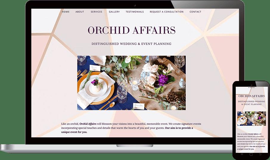 Orchid Affairs Website Taren Tooten