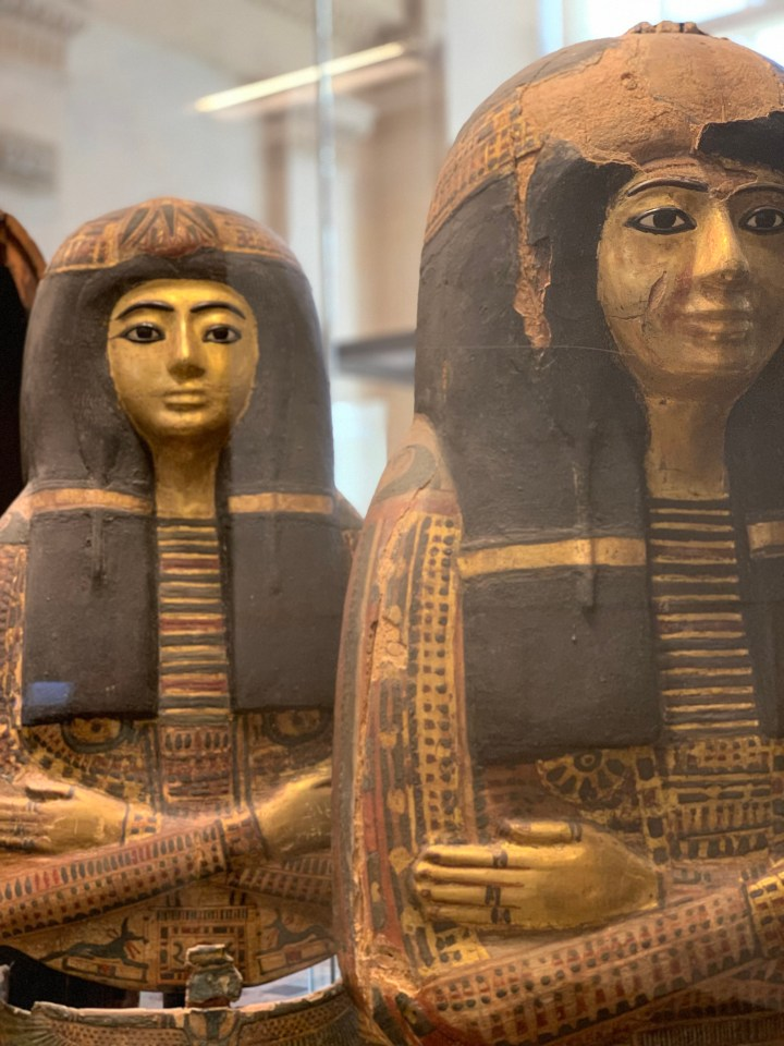Louvre Exhibit Egyptian