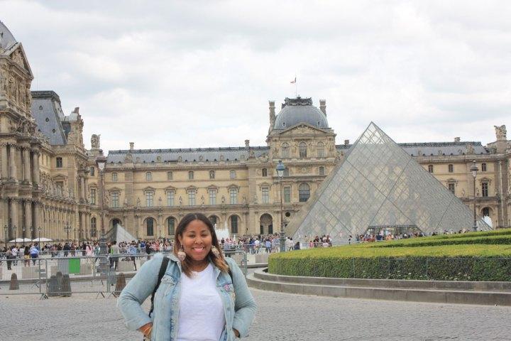 Taren Tooten #TarenUpEurope Paris France Louvre
