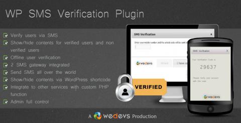 WP SMS Verification