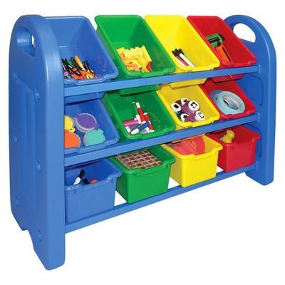 Toy Storage Organizer with Bins