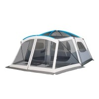 Mobile Site Embark 9 Person Cabin Tent With Screen Porch 14x15