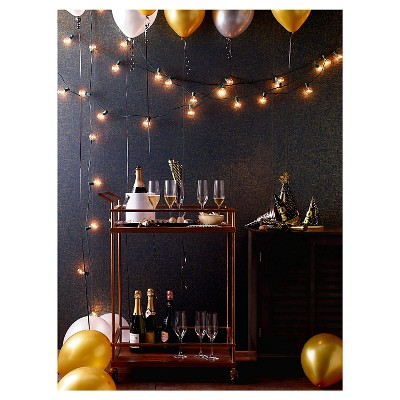 25ct Clear Globe Lights Room Essentials Target