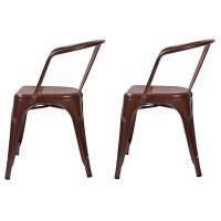 Carlisle Low Back Metal Dining Chair - Threshold : Target