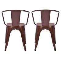 Carlisle Low Back Metal Dining Chair : Target