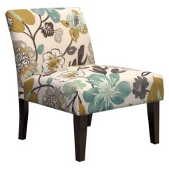 Target Armless Accent Chair Barcelona Chairs Replica Upholstered Slipper Avington Ebay