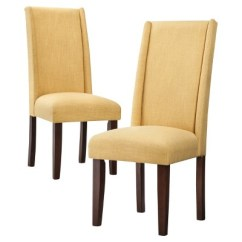 Dining Wingback Chair Inada Massage Price Charlie Modern Set Of 2 Ebay