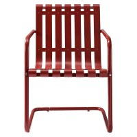 Gracie Metal Retro Patio Spring Chair | eBay