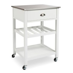 Kitchen Cart Stainless Steel Quiet Hood Top Threshold