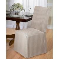 Herringbone Dining Room Chair Slipcover | eBay