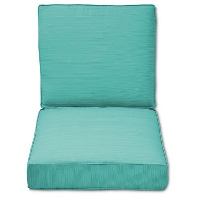 Belvedere Club Chair Cushion Set Green Threshold eBay