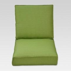 Target Chair Cushions French Script Wingback Belvedere Club Cushion Set Green Threshold Ebay