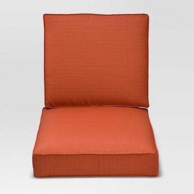 Belvedere Club Chair Cushion Set - Green Threshold