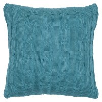 Sweater Knit Throw Pillow - Rizzy Home