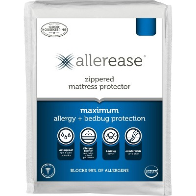 AllerEase Maximum Bed Bug and Allergy Mattress Protector