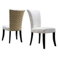 Stanford Fabric Dining Chairs Wood (Set of 2 ...