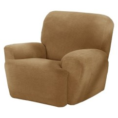 Arm Chair Covers Target Vintage Ekornes Stressless Collin Stretch Recliner Slipcover 4 Piece Maytex Ebay