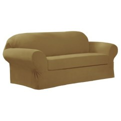 Stretch Slipcovers For Sofas Outdoor Wrought Iron Sofa Table Collin Slipcover 2 Piece Maytex Ebay