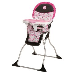 Portable High Chair Target Green Tufted Dining Disney Simple Fold Plus Minnie Garden Delight