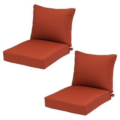 target chair cushions papasan frame diy ft walton 2pk deep seating back cushion seat