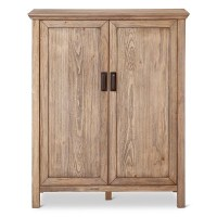 Gilford Rustic Bar Cabinet - Threshold | eBay