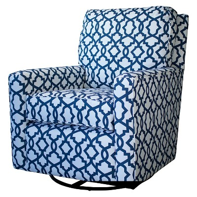 swivel club chair with ottoman rocking covers gliders & rockers, chairs, living room furniture : target