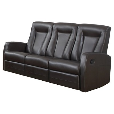 Leather Chairs Target Bonded Leather Sofa Lounger Monarch Specialties Ebay